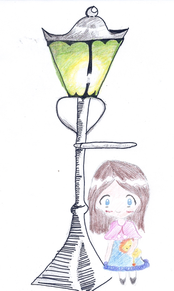Lucy and the Lamp Post