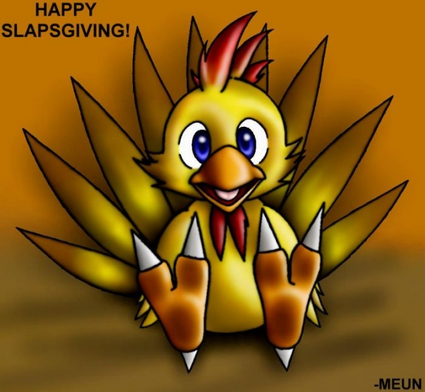 Chocobo Slapsgiving