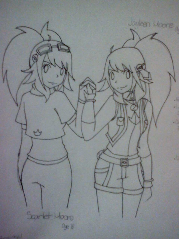 Two of A Kind (uncolored)