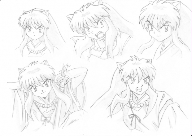 Inuyasha faces