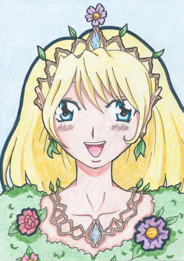 Queen fairy (colored)
