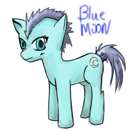 Blue Moon MLP OC