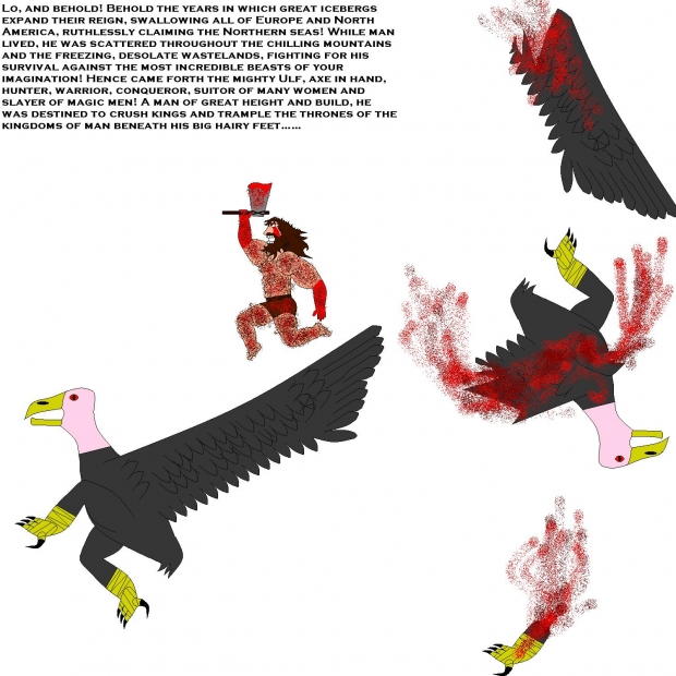 Ulf VS Giant Vultures