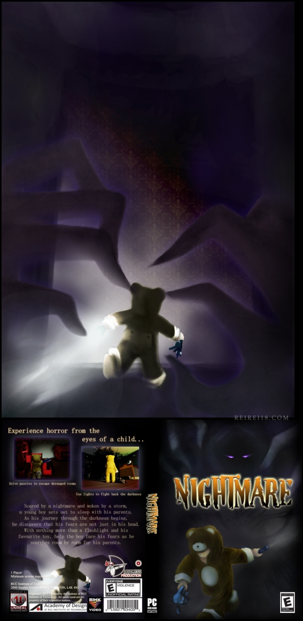 Nightmare Box Art Back