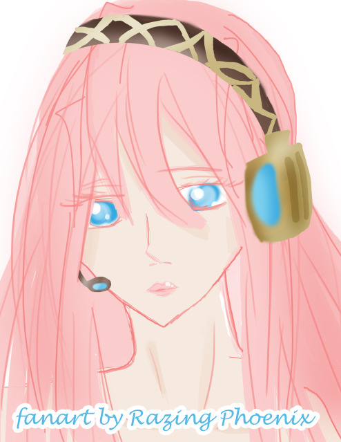 Megurine Luka Doodle