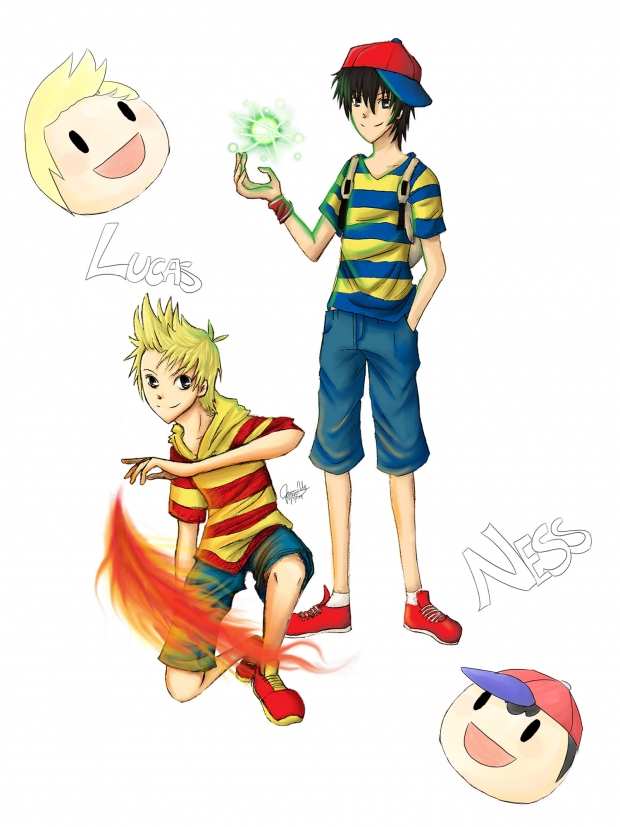 Older Ness and Lucas