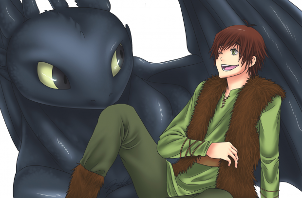 SS: Hiccup and Toothless