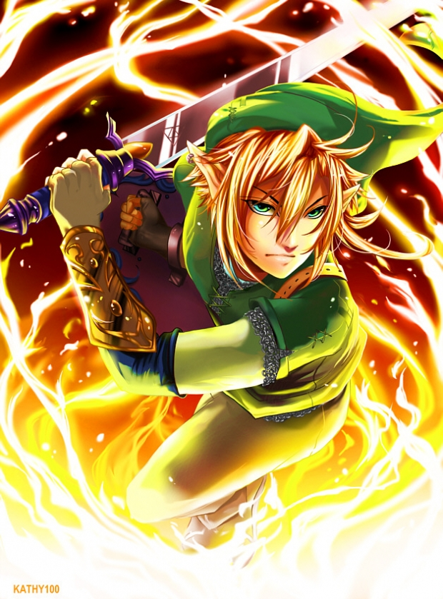 Link: Through Fire