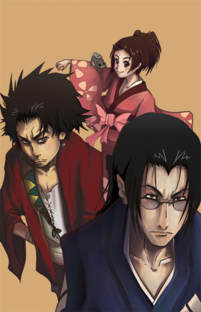 samurai champloo Fan Art WIP 2