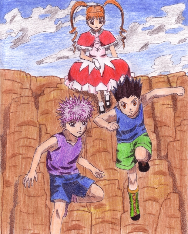 Greed Island-----(colored)