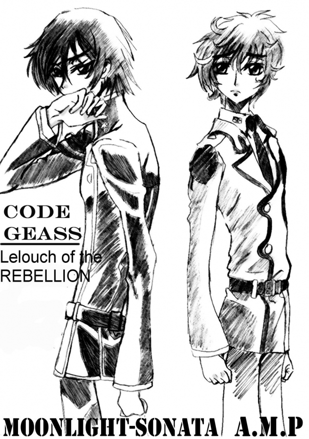 Lelouch and Suzaku :D