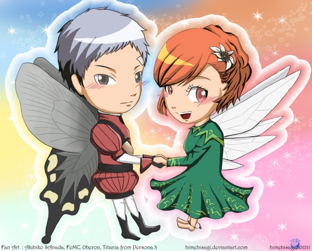 Akihiko And Minako in Cosplay