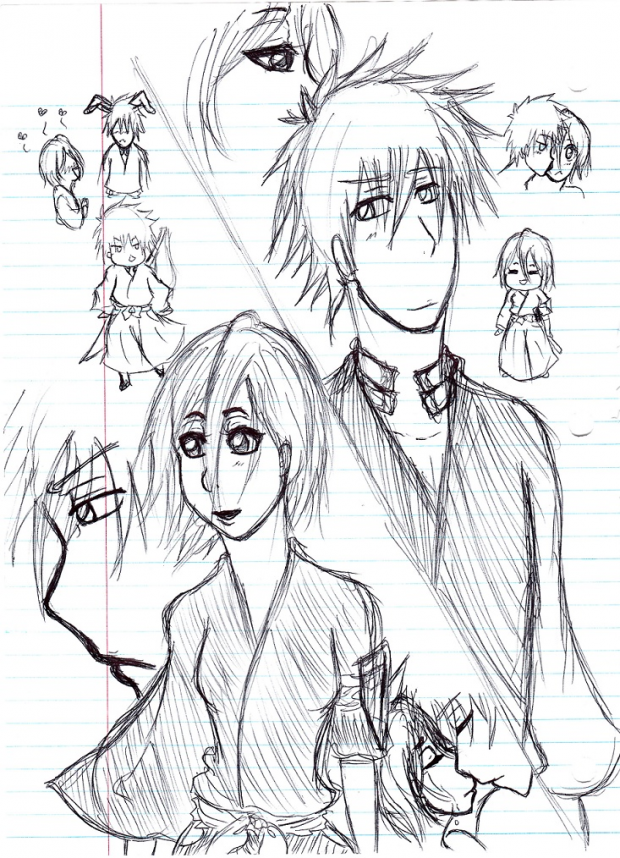 IchiRuki Sketches