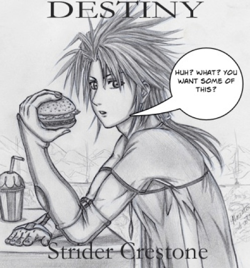 Strider Crestone- Eating a burger