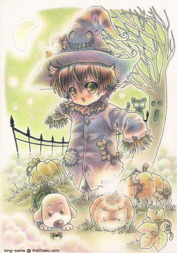 BOO! I'm a scarecrow~