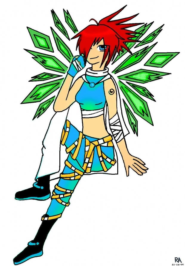 Saiya: Colored in with the right colors!!!