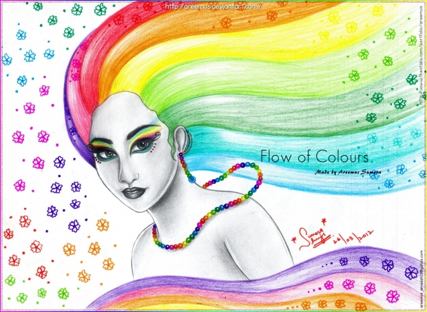 Flow of Colours