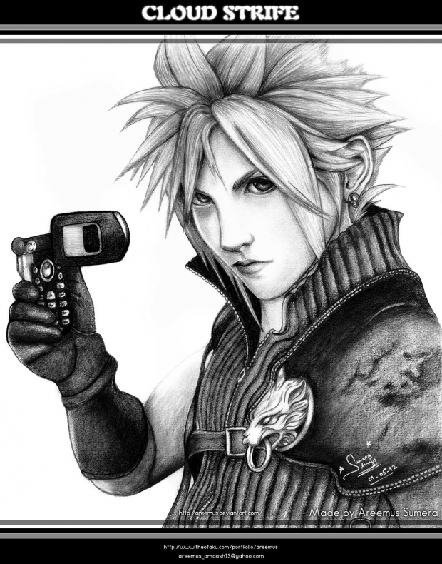 Cloud Strife from FF VII AC