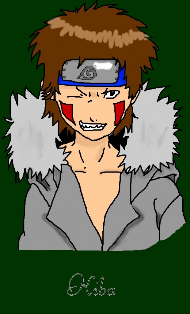 Kiba - Colored (I'm terrible at that)