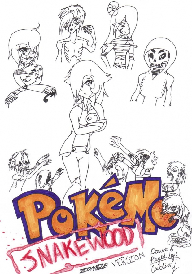 Pokemon: SNAKEWOOD (Uncolored)