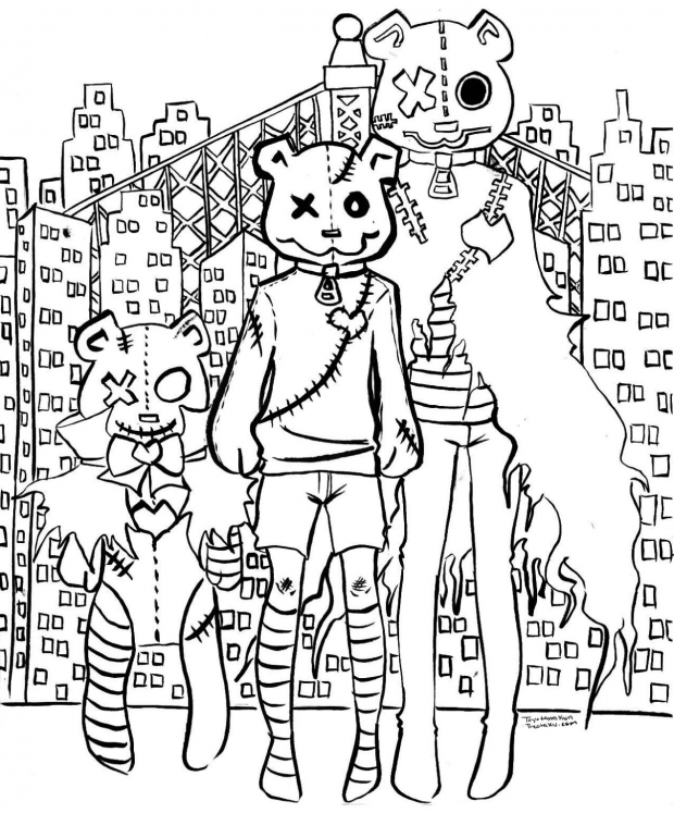 City Bears (Lineart)