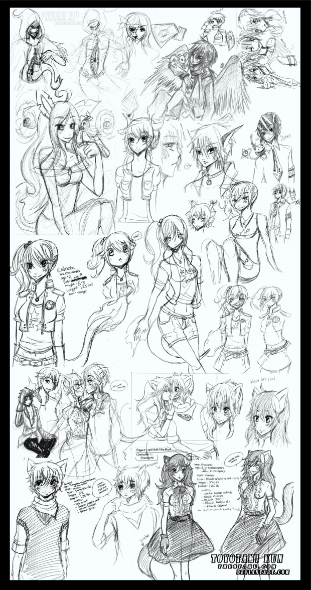 Sketch Attack: Character dump