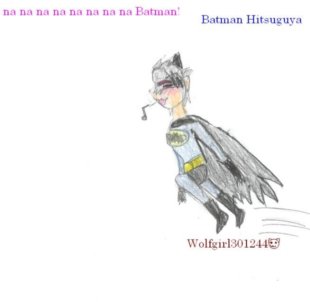 Batman Hitsuguya for supersaiyanjounin