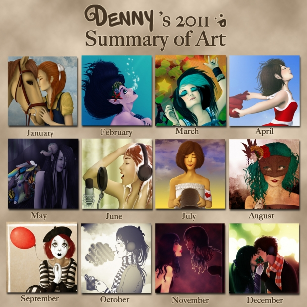 2011 Art Summary. :)