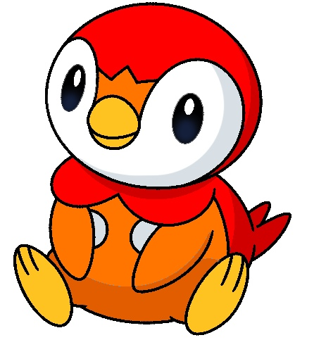 Teardrop (Red Piplup)