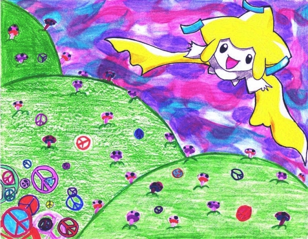 Jirachi Flies