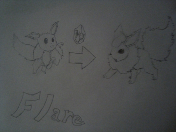 Flare for Pokemon Amber
