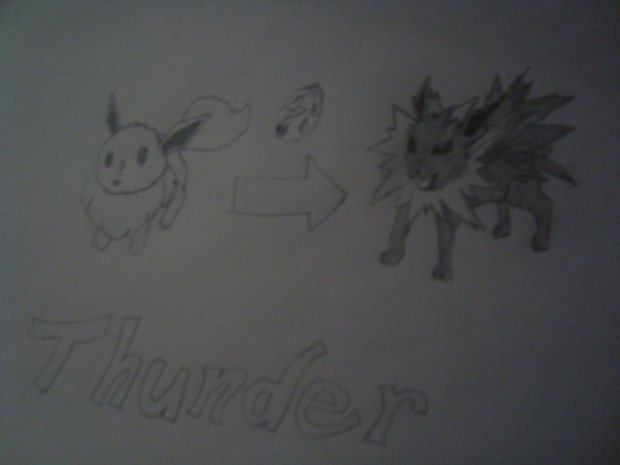 Thunder for Pokemon Amber