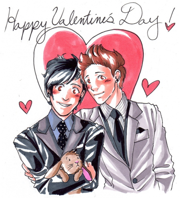 V-Day SS: Eli and Kevin