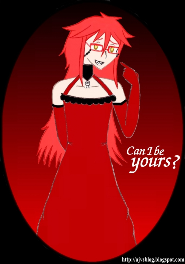 Grell in a Dress
