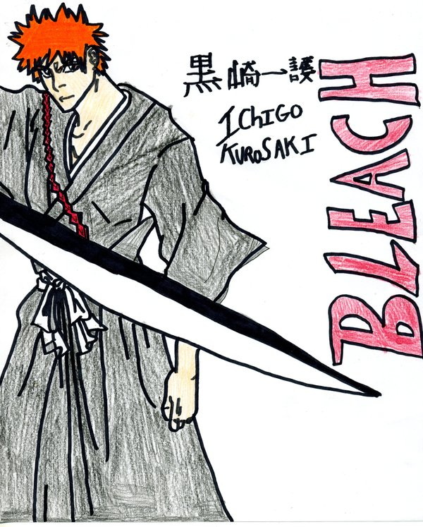 drawing of ichigo