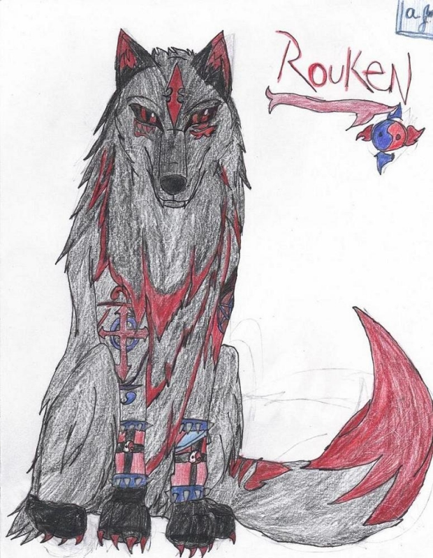 Rouken the Shadow Wolf