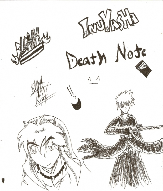 BLEACH/INUYASHA/DEATHNOTE