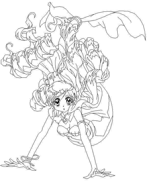 Free Coloring Pages Of Anime Mermaid Coloring Anime Mermaid