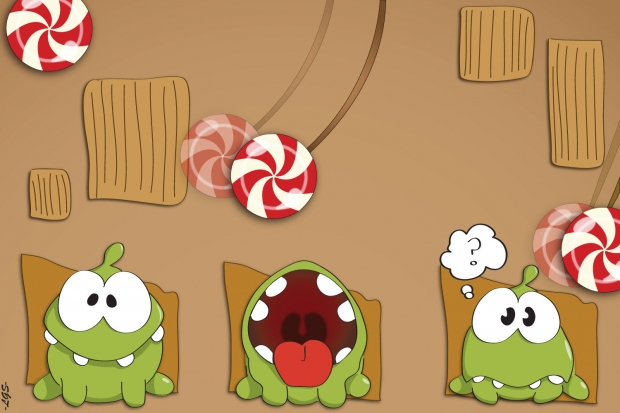 Cute Box Monster (Cut the Rope!)