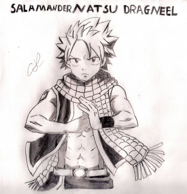 Salamander Natsu Dragneel