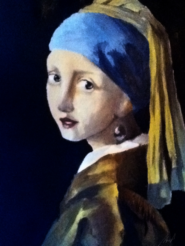 Girl with the Pearl Earring (After a Master Project)