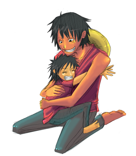 Luffy and Child