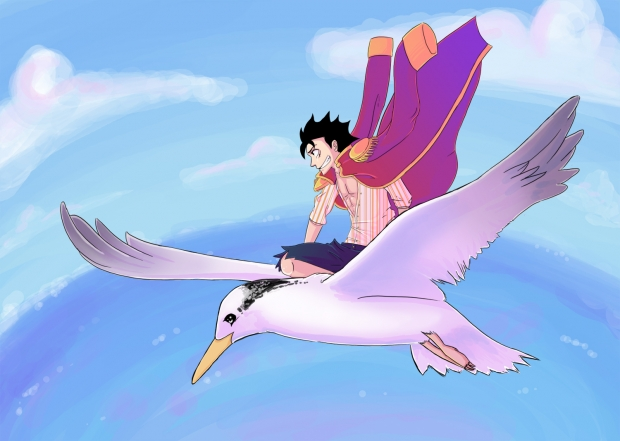 Luffy Flying