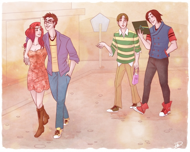 Marauders Date Night