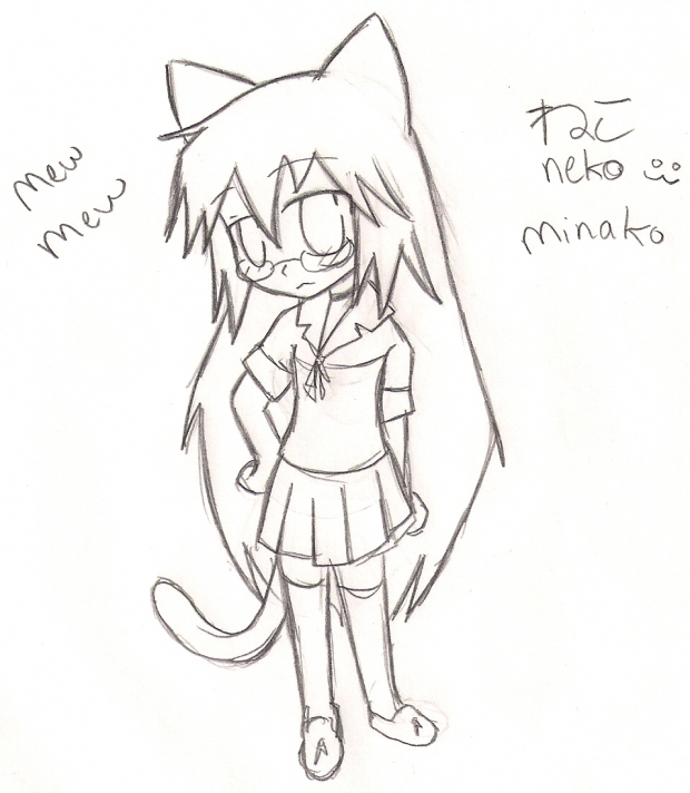mew mew neko Minako (me) mwahahaha