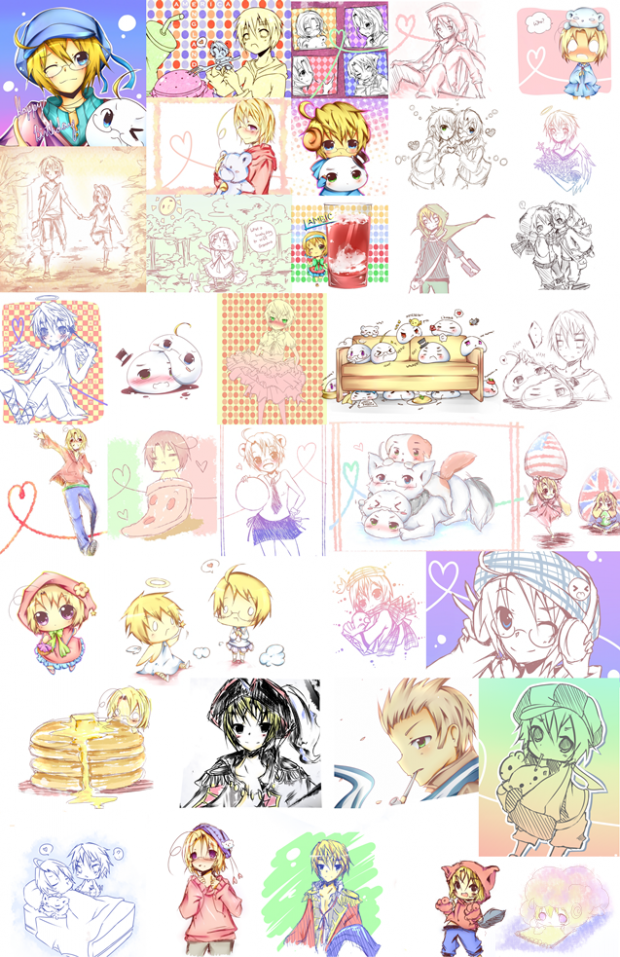 Hetalia Collage