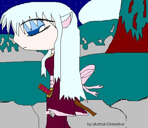 Zawakia, inuyasha daughter