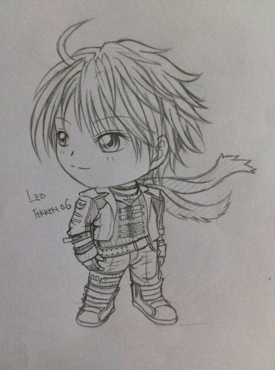 Chibi Leo from Tekken 06