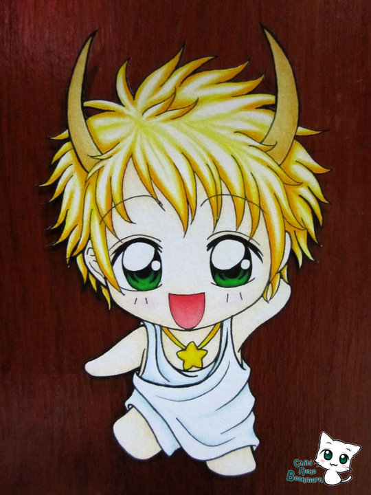 Taurus Chibi Bookmark