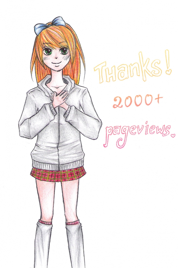 thanks for 2000+ pageviews